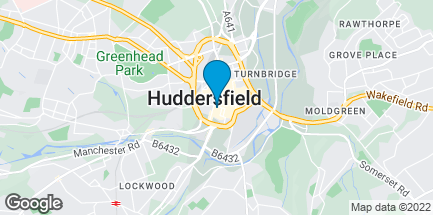 Map of 5 High Street in Huddersfield