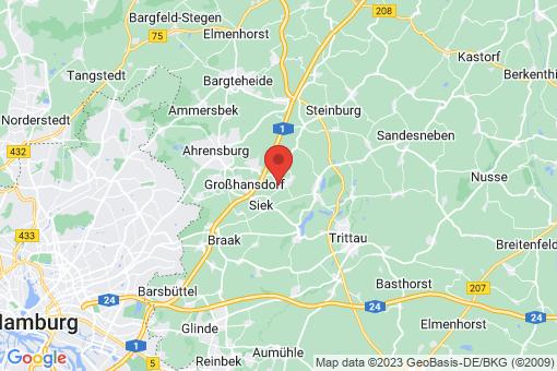 Karte Hoisdorf