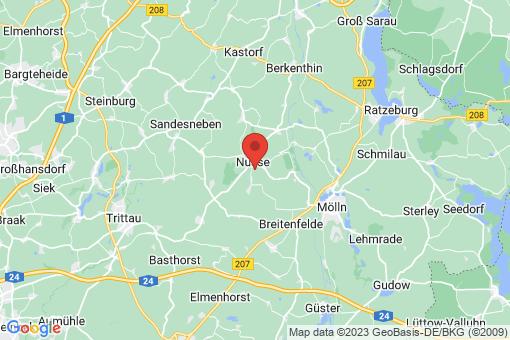 Karte Poggensee