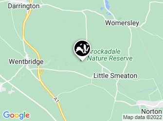 A static map of Brockadale Nature Reserve