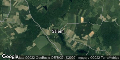 Google Map of Salem bei Ratzeburg