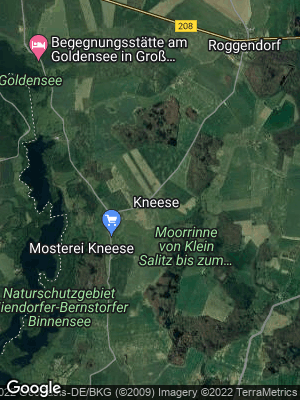 Google Map of Kneese bei Gadebusch
