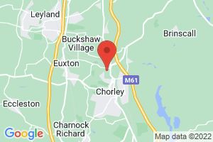 Chorley Hospital on the map