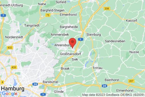 Karte Großhansdorf