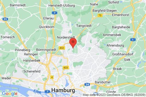 Karte Hamburg-Wandsbek