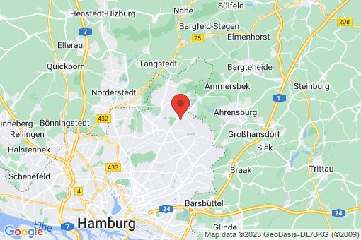 Karte Hamburg Bergstedt