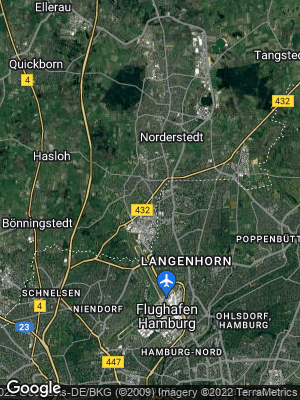 Google Map of Norderstedt