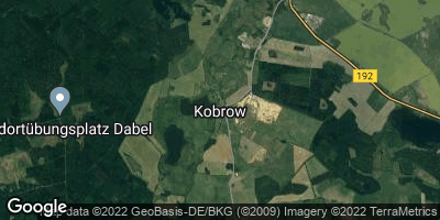 Google Map of Kobrow bei Sternberg