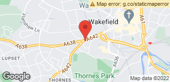 Map of West End Florist at 93 Westgate End, Wakefield, West Yorkshire WF2 9RL
