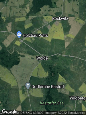 Google Map of Wolde bei Altentreptow