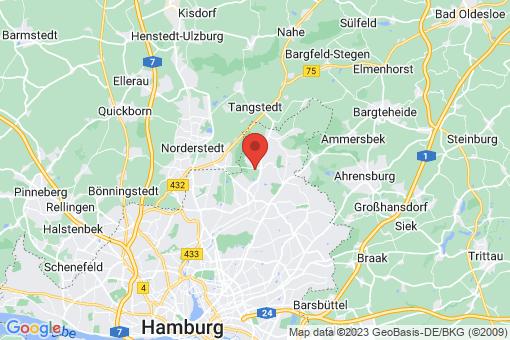 Karte Hamburg Lemsahl-Mellingstedt