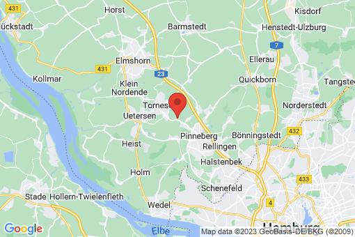 Karte Prisdorf