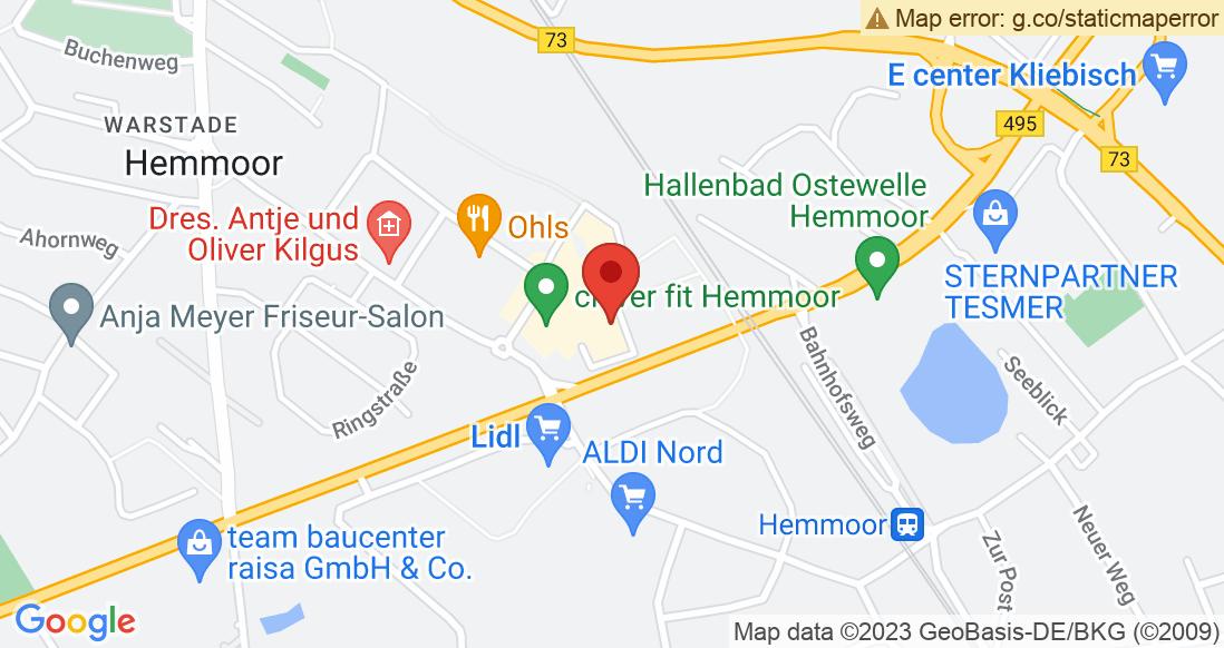 Google Map Schuhhaus Steffens  Hemmoor