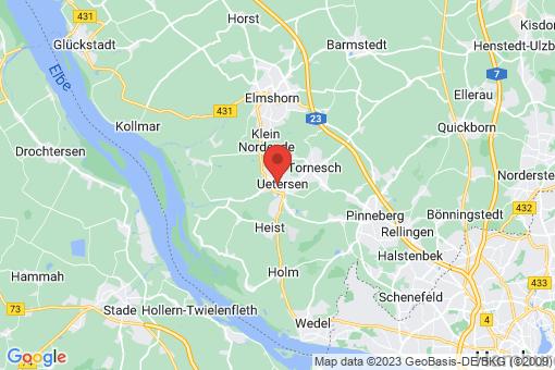 Karte Uetersen