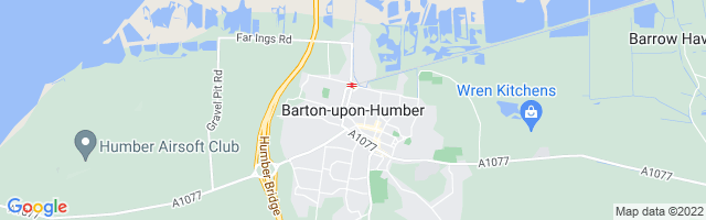 Map Of Barton-upon-Humber