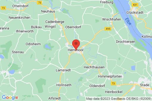 Karte Hemmoor
