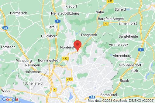 Karte Norderstedt