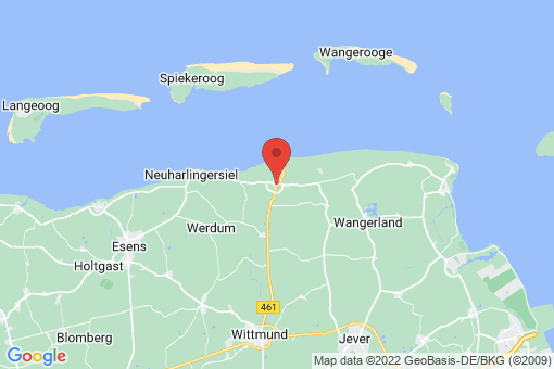 Karte Wittmund Carolinensiel