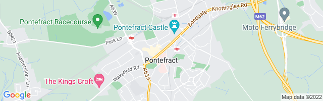 Map Of Pontefract