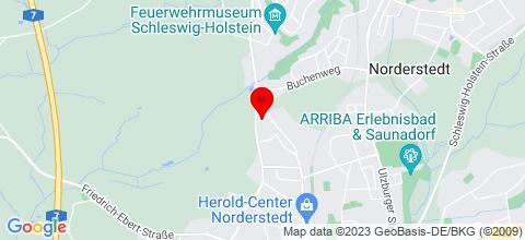 Google Map für Aparwo Apartments 22850 Norderstedt