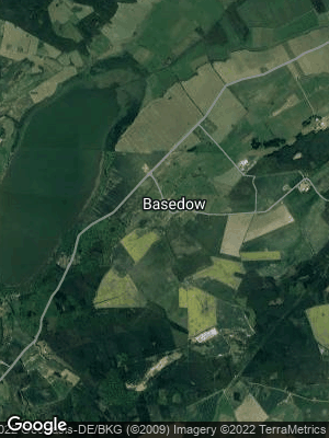 Google Map of Basedow bei Teterow