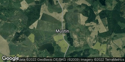 Google Map of Mustin bei Sternberg