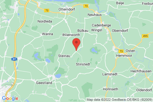 Karte Odisheim