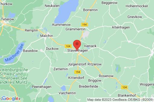 Karte Reuterstadt Stavenhagen
