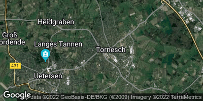 Google Map of Tornesch