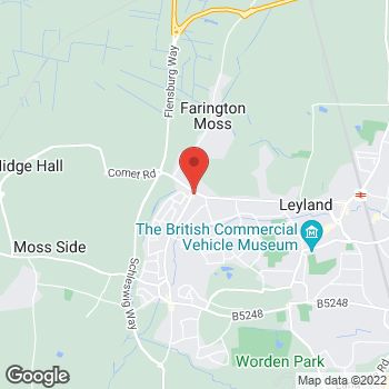 Map of Bargain Booze Leyland Lane at 81 Leyland Lane, Leyland, Lancashire PR25 1XB