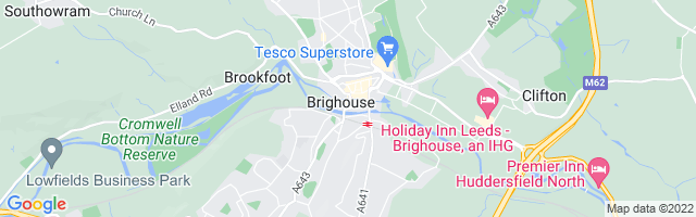 Map Of Brighouse