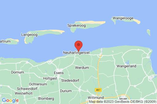 Karte Neuharlingersiel