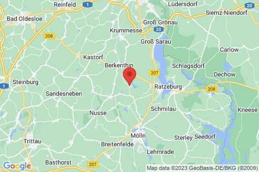 Karte Behlendorf
