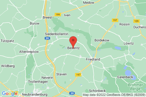 Karte Beseritz