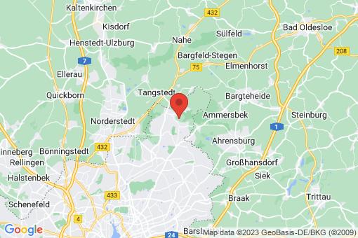 Karte Hamburg Wohldorf-Ohlstedt
