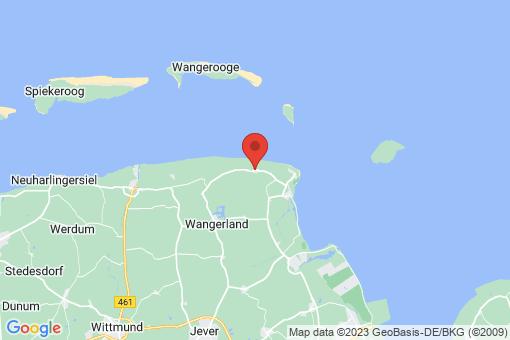 Karte Wangerland Minsen