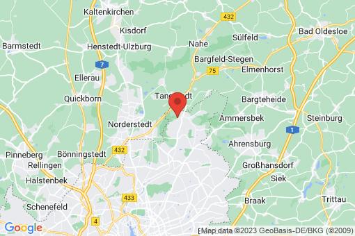 Karte Hamburg Duvenstedt