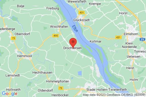 Karte Drochtersen