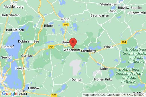 Karte Weitendorf