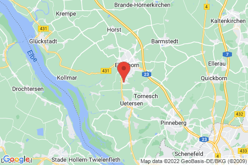 Karte Klein Nordende