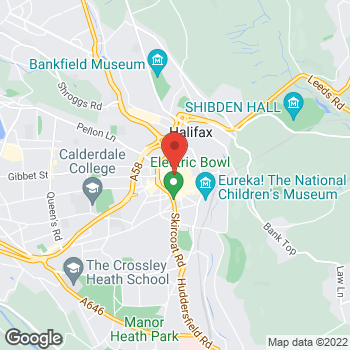 Map of wilko Halifax at 2 Southgate, Halifax,  HX1 1DR