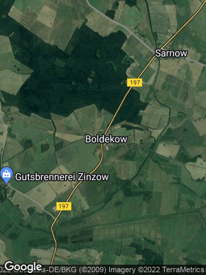 Google Map of Boldekow