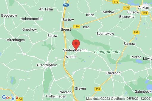 Karte Siedenbollentin