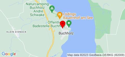 Google Map für Ferienwohnungen Haus Seelust