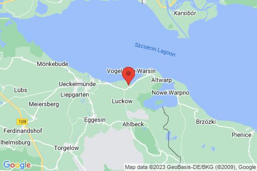 Karte Vogelsang-Warsin