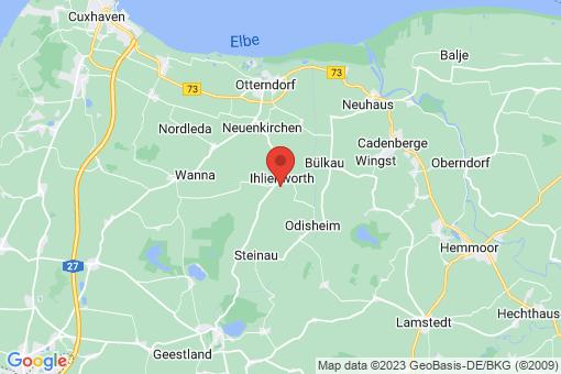 Karte Ihlienworth