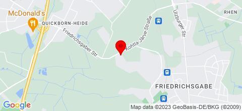 Google Map für Monteurzimmer in Norderstedt ab 9,00 € p.N.