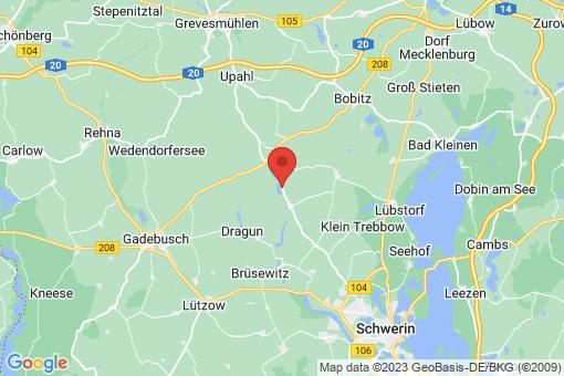 Karte Dalberg-Wendelstorf