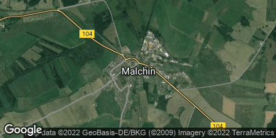 Google Map of Malchin