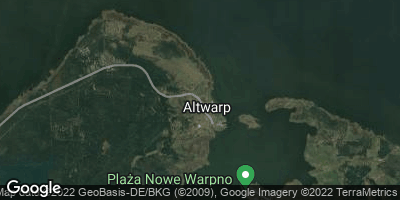 Google Map of Altwarp